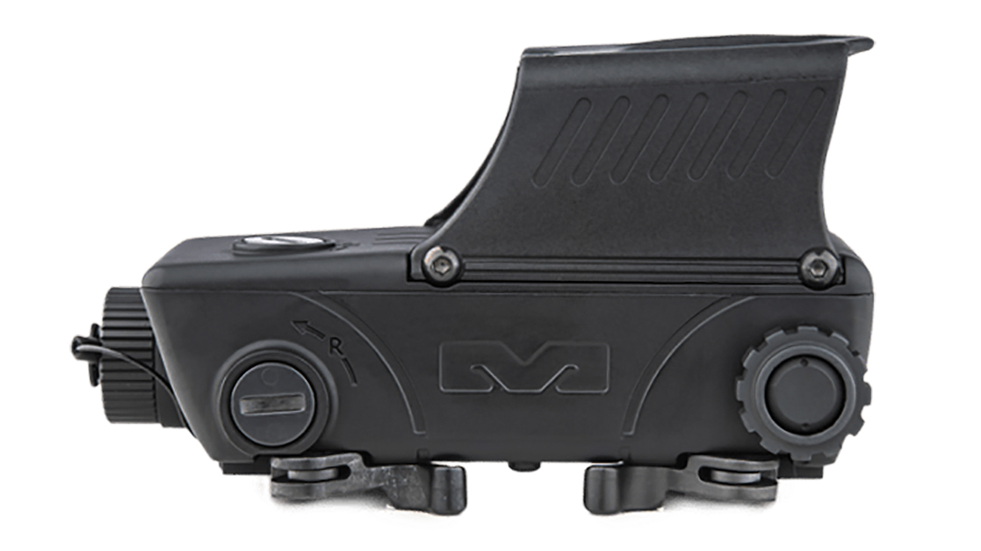 The new Mepro RDS Pro V2 was built to Mil-Spec toughness for military use.