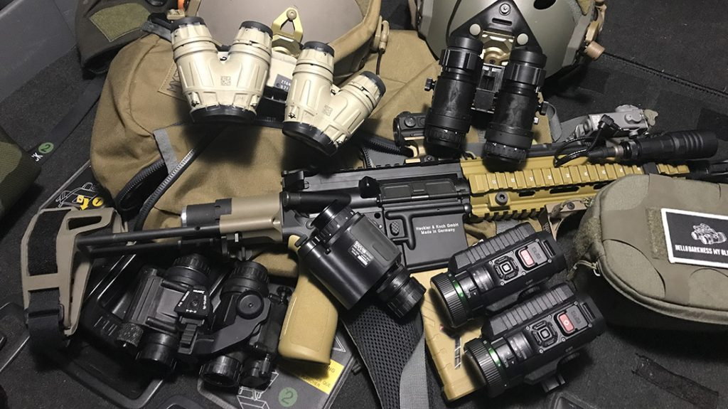 There is a wide range of night vision optics available on today's market.