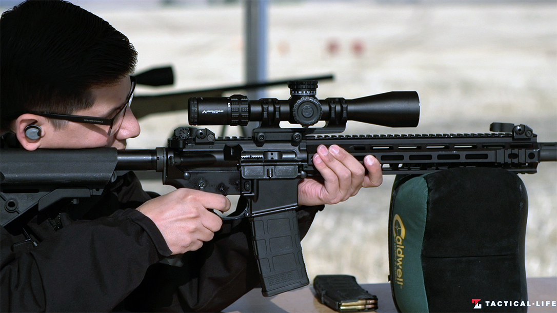 The Primary Arms GLx Raptor M2 proved capable as a mid-range optic.