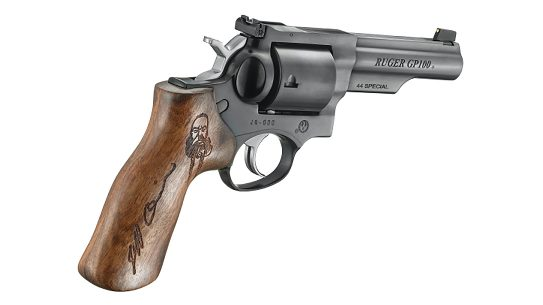 The Ruger Jeff Quinn Memorial GP100 pays tribute to the late gun reviewer.