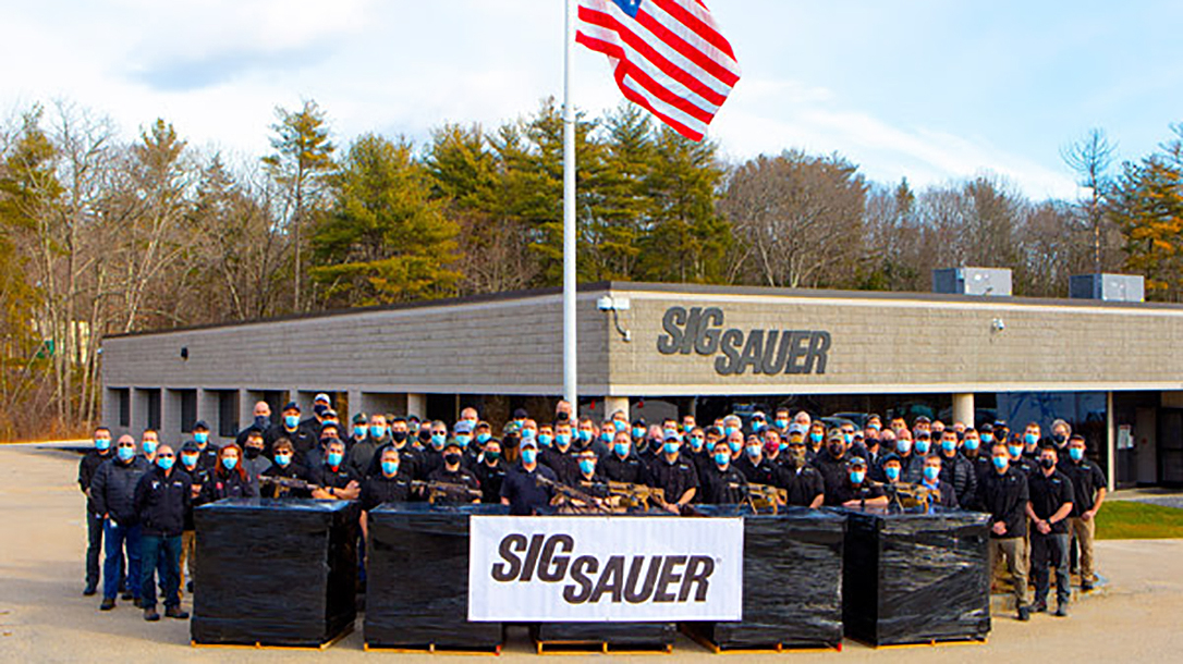SIG just completed final delivery of the U.S. Army NGSW system.