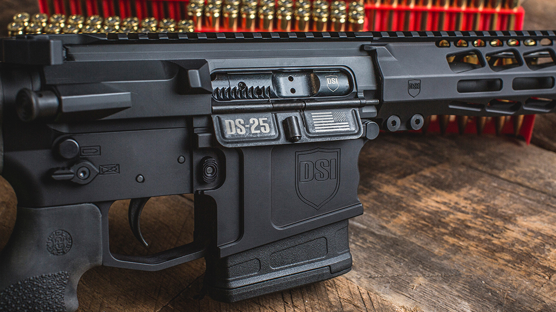 The Dark Storm Industries DS-25 features configurations making it legal in all 50 states.