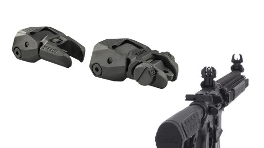 The lightweight Mepro FRBS helps you keep your carbine in the fight.