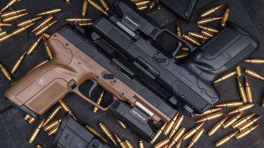 NATO recently accepted the FN 5.7x28 for standardization among NATO forces.
