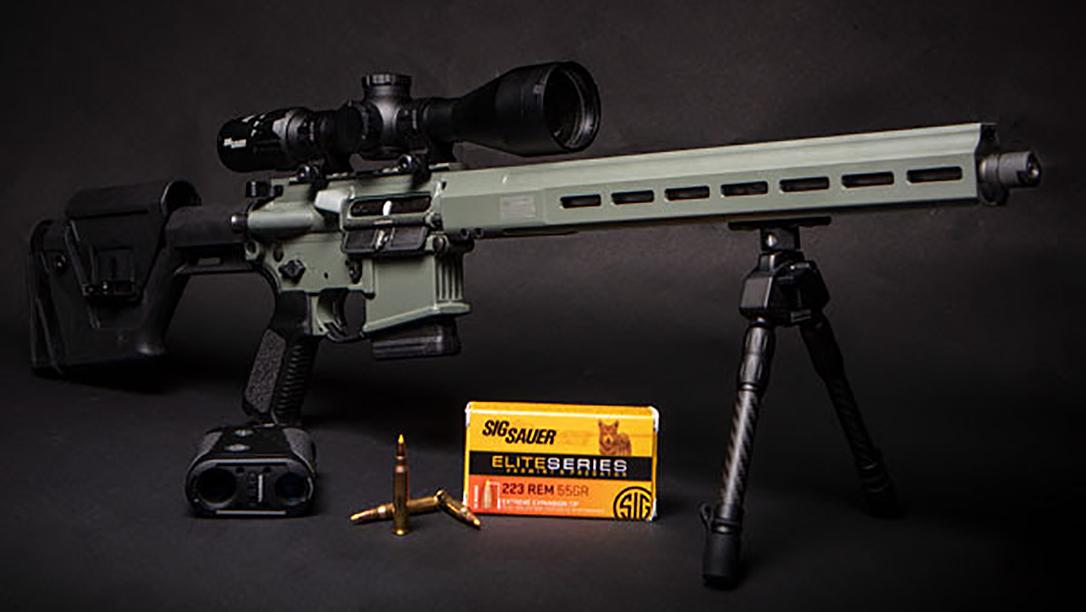 The SIG TREAD PREDATOR is built for predator hunting.