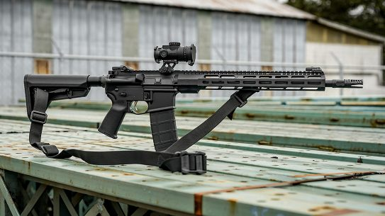 The ZEV Core Duty features a 16-inch barrel and is designed for professional use.