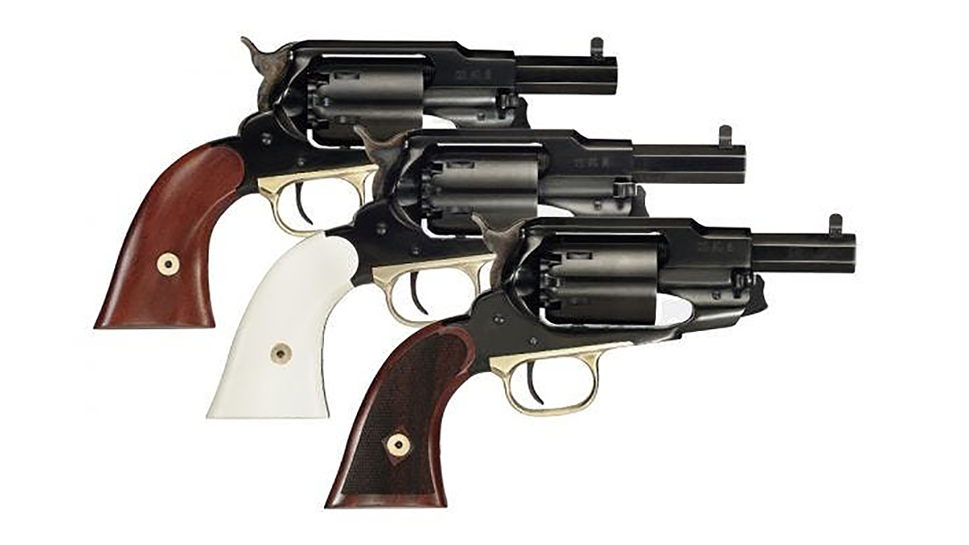 The Taylor's & Company Ace is based on the 1858 Remington revolver.