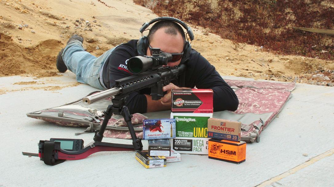 We tested seven different 55-grain FMJ loads in 5.56mm NATO.