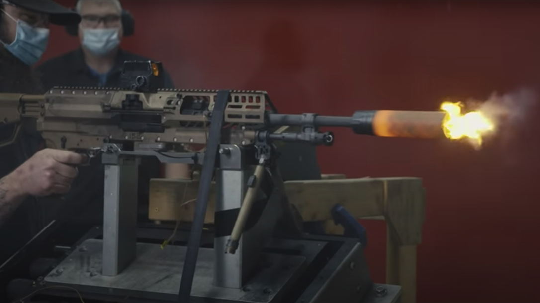 SIG Sauer Army NGSW Program, behind the scenes, weapon test