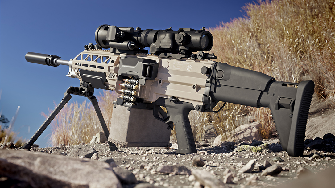 FN EVOLYS: FN Launches New Ultralight Machine Guns in 5.56 & 7.62