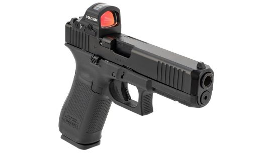 A Holosun and Primary Arms co-branded optic won an NTOA silver rating.