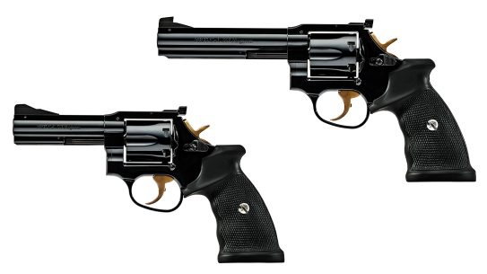 Built to French military specs, the new Manurhin revolvers come fully loaded.