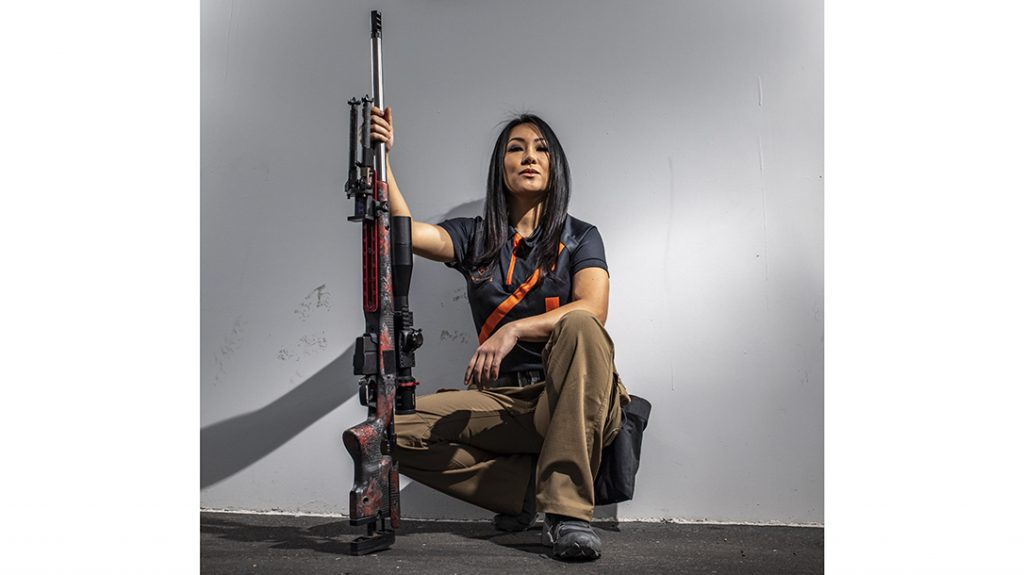 Hoang transformed herself into a force in competition from complete novice.