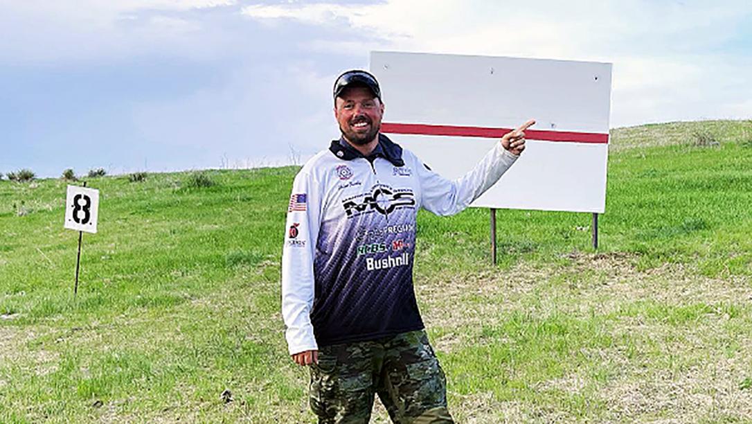 Robert Brantley shooting, Hornady's Robert Brantley recently made a 2.4 mile ELR shot.
