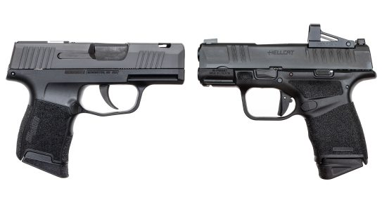 SIG Sauer sued Springfield Armory, claiming patent infringement.