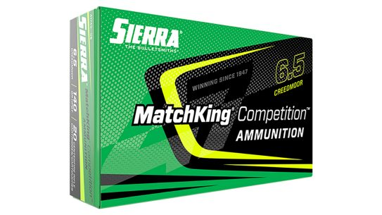 Sierra adds high-quality brass and components to its legendary competition bullet.