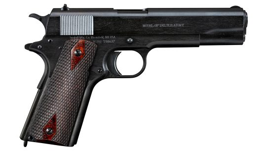 The Turnbull 1911 Black Army is straight out of WWI in 1918.