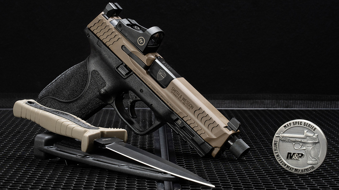The new M&P Spec Series Kit from S&W comes fully loaded.