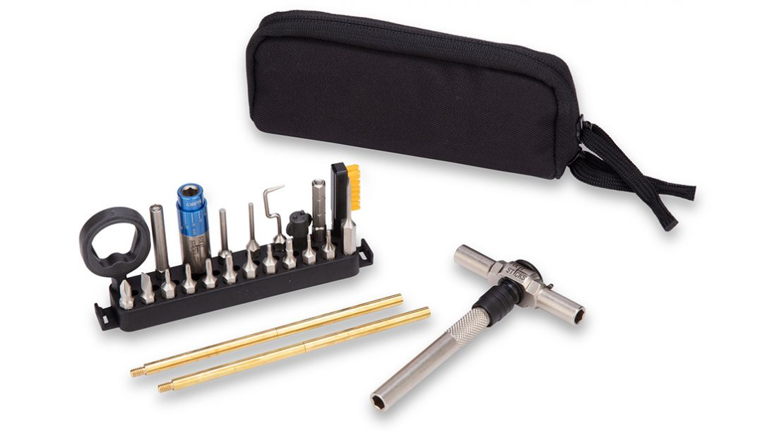 The Fix It Sticks Compact Pistol Kit contains everything you need.