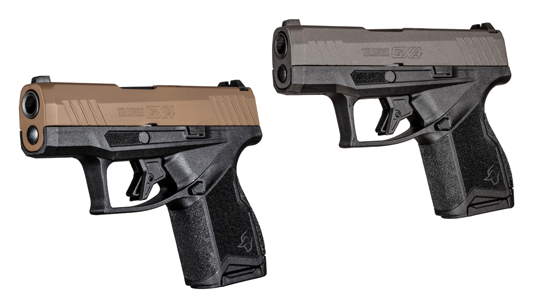 The Taurus GX4 pistol added two new slide finishes.