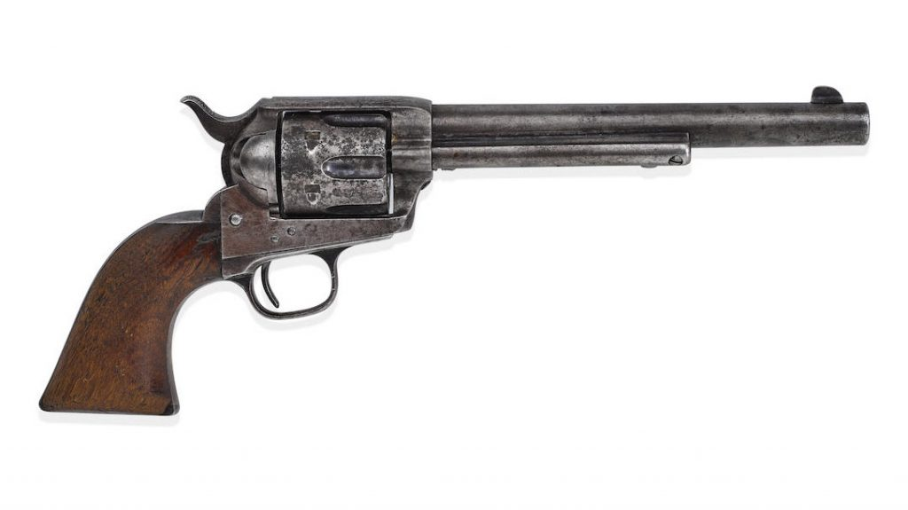 The famous Billy the Kid gun