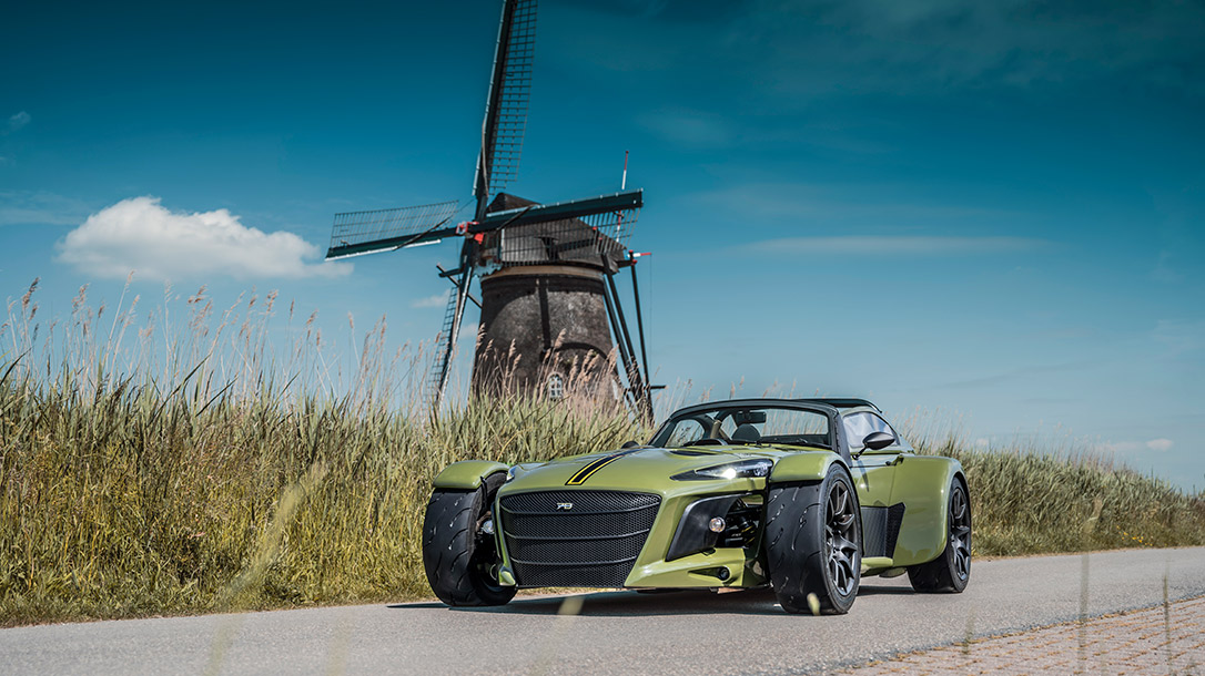 The Donkervoort D8 GTO-JD70 is a tactical ride right out of the dreams of your inner child.