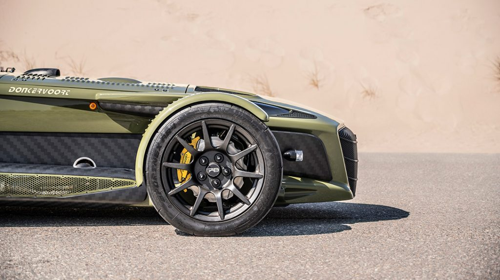 The Donkervoort D8 GTO-JD70 tactical ride