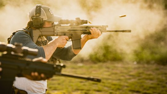 The FN SCAR finally gets non-reciprocating charging handles.