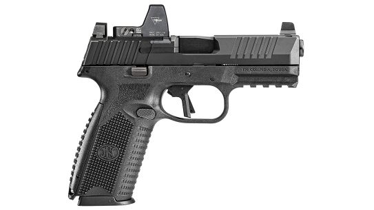 The LAPD recently selected the FN 509 MRD LE for duty.