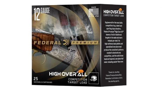 Federal's new High Over All shotshell is designed for high-level shotgun competition.