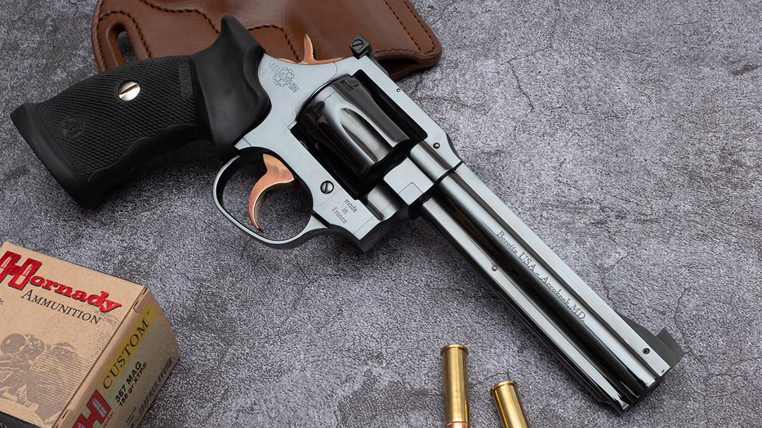The Beretta Manurhin MR73 revolver is a beautiful beast.