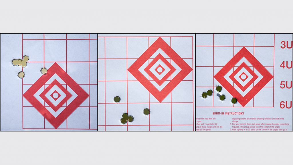 From a simple rest at 25 yards, the MR73 shot most groups at or under 1.5 inches. This was repeated with various ammunition types and weights.