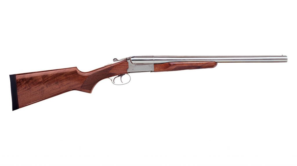 Stoeger Coach Supreme Nickel. Stoeger has a very simple, elegant approach to coach guns, making them one of the best.