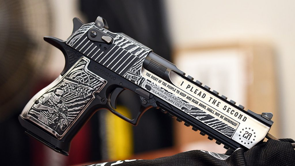 Every inch of this custom Desert Eagle is filled with American pride.