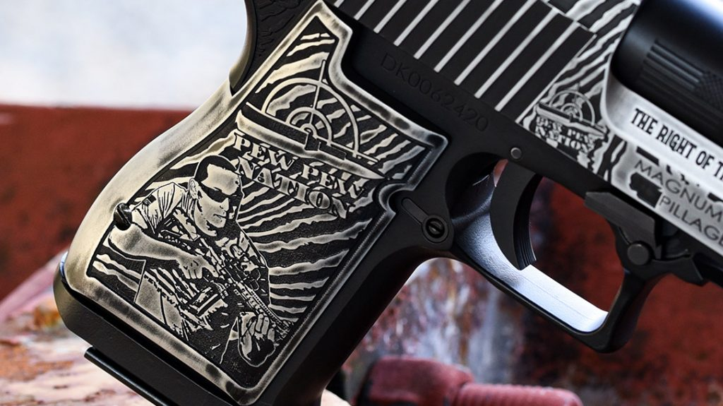 Outlaw Ordnance customized this Deagle from front to back and left to right.