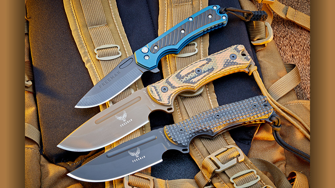 Freeman Outdoor Gear produces hard use knives for all walks of life.