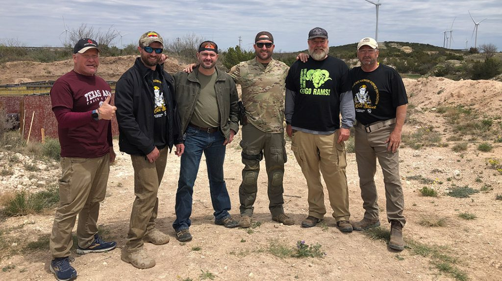 Everyone had a great time at the Military Warriors Support Foundation Skills 4 Life Spike S Ranch 3-Gun Competition