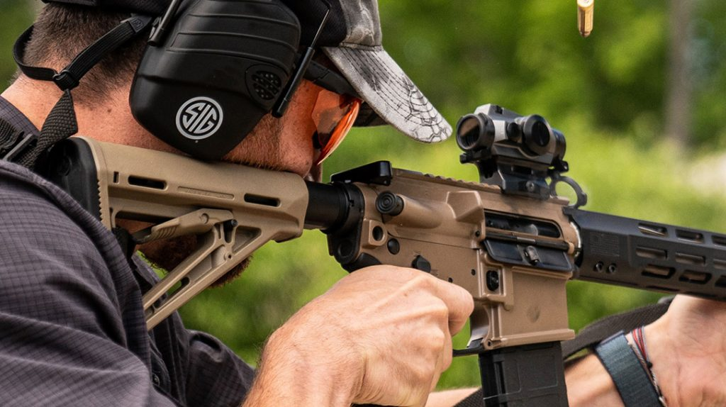 When it comes to pure speed, nothing gets on target quite like a red dot sight.