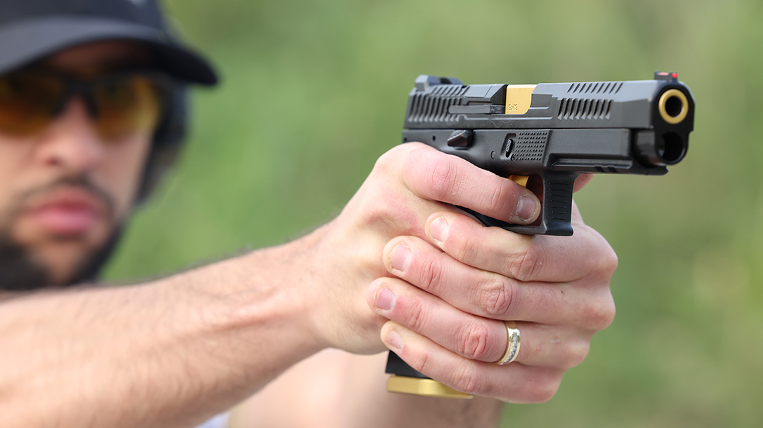 The new CZ P-10 F is built to compete.
