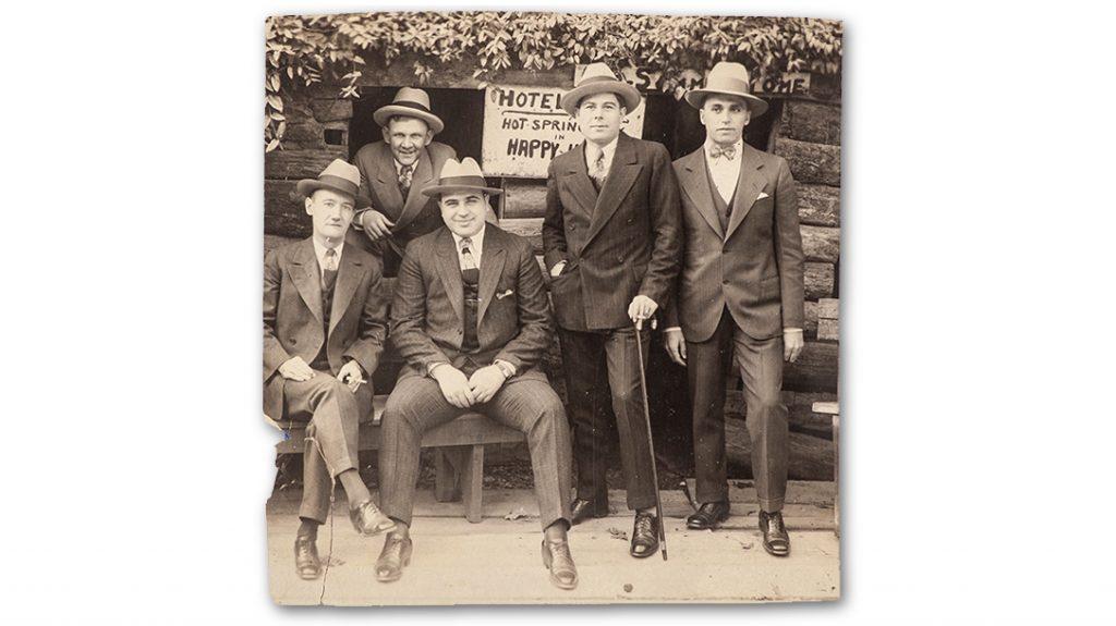 Al Capone and associates.
