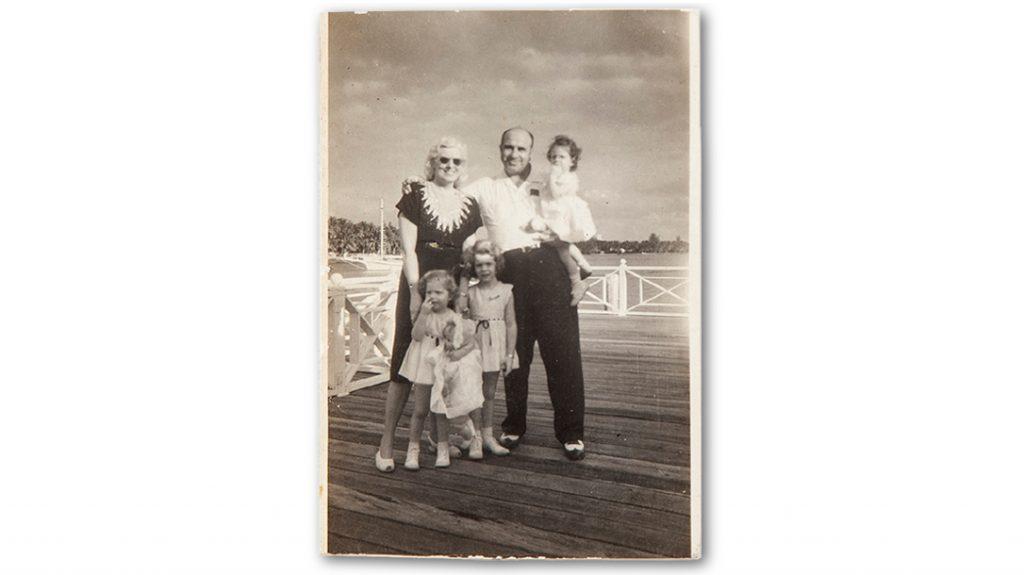 The last photo taken of Al Capone.