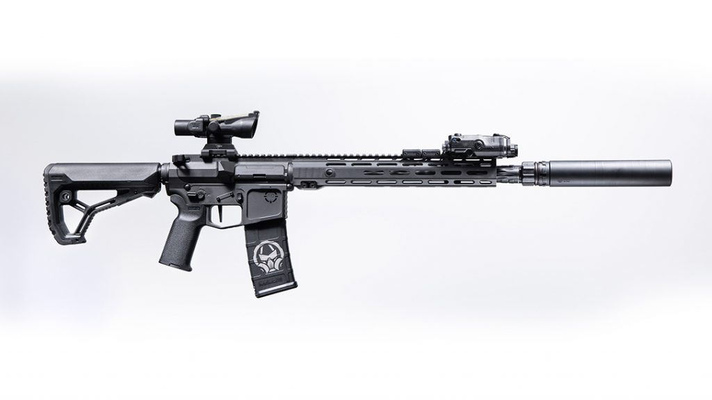 The Primal suppressor is perfect for tactical platforms.