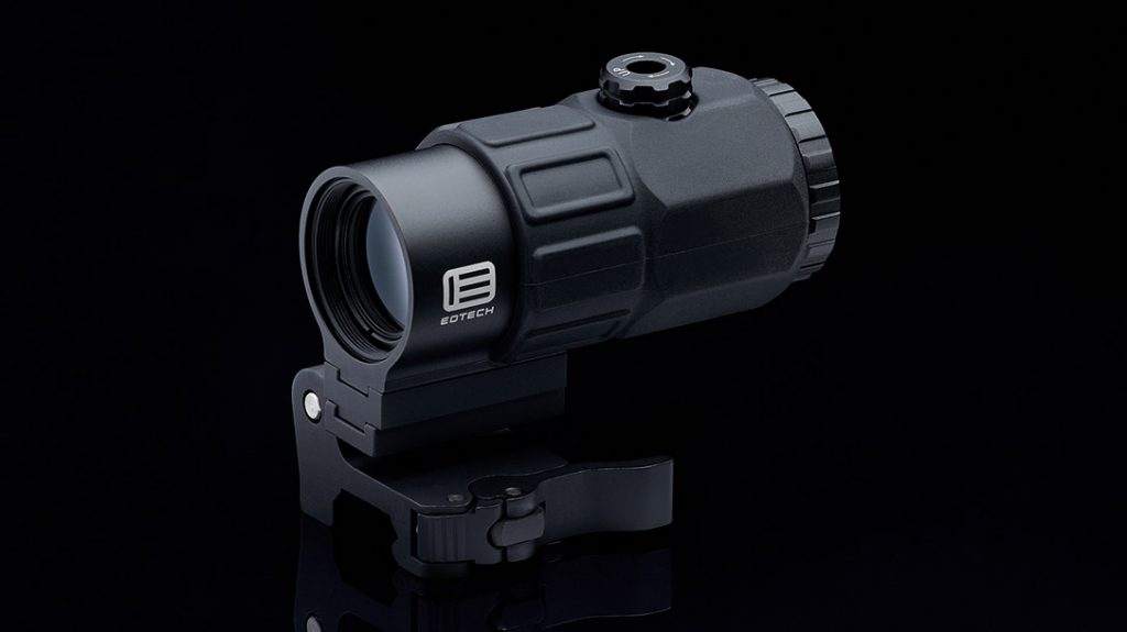 The EOTECH G45 Optic Magnifier.
