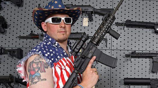 Patriot gun sales clerk.
