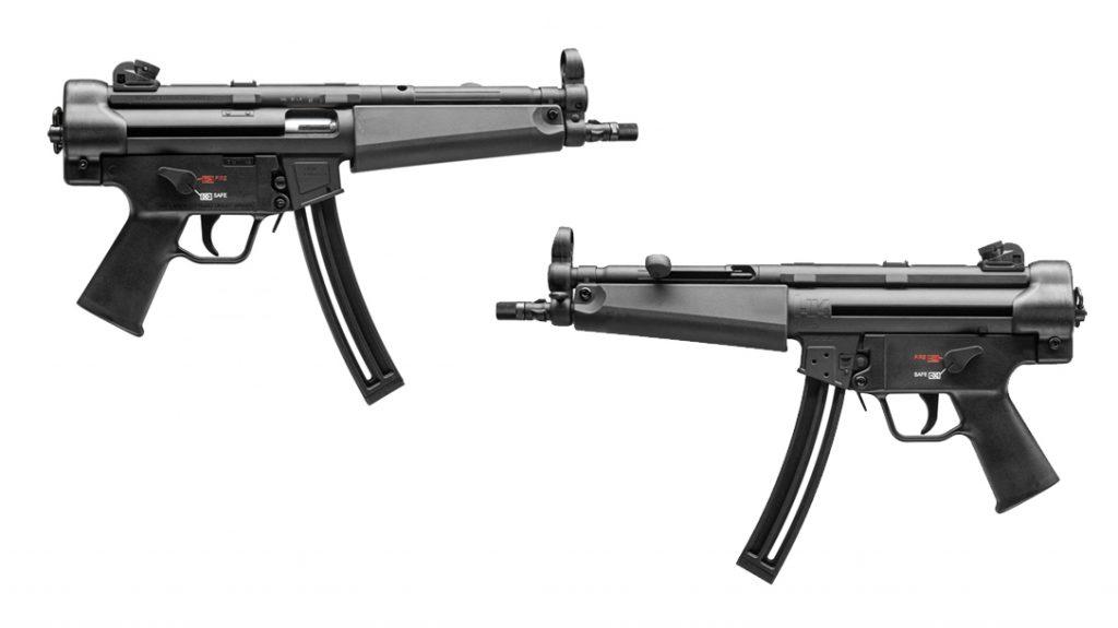 The MP5 Rimfire pistol.