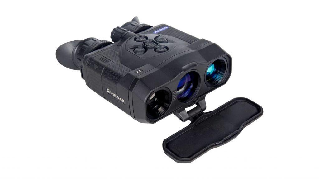 The Pulsar Trionyx Multispectral Binoculars.
