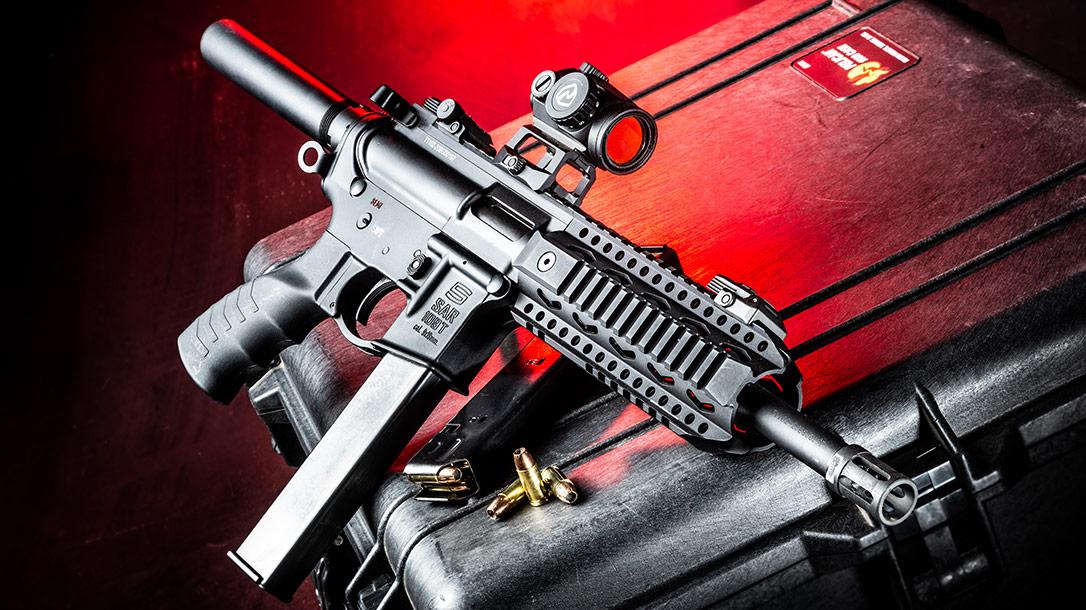 The SAR USA 109T PCC Carbine.