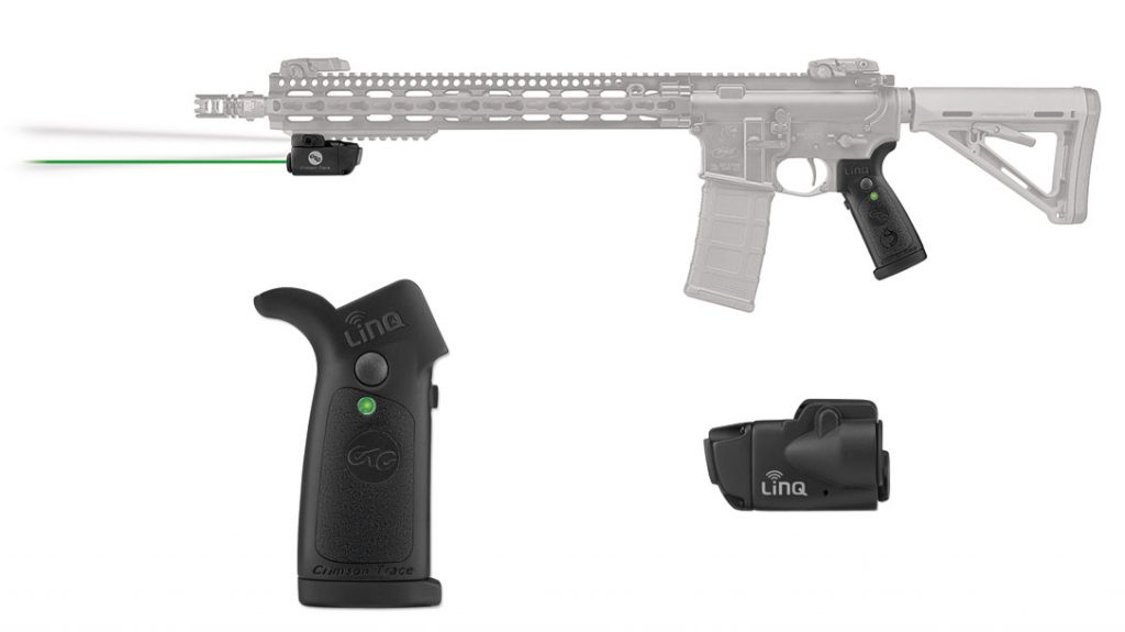 Crimson Trace's LiNQ system worked perfectly with this AR pistol setup. It proved to be both quick and easy to use.