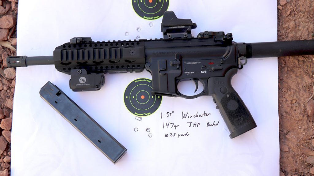 I found that the SAR USA 109T ran pretty much all FMJ, including 147-grain projectiles. Even Ammo Inc's super heavy 165-grain stelTH subsonic rounds.
