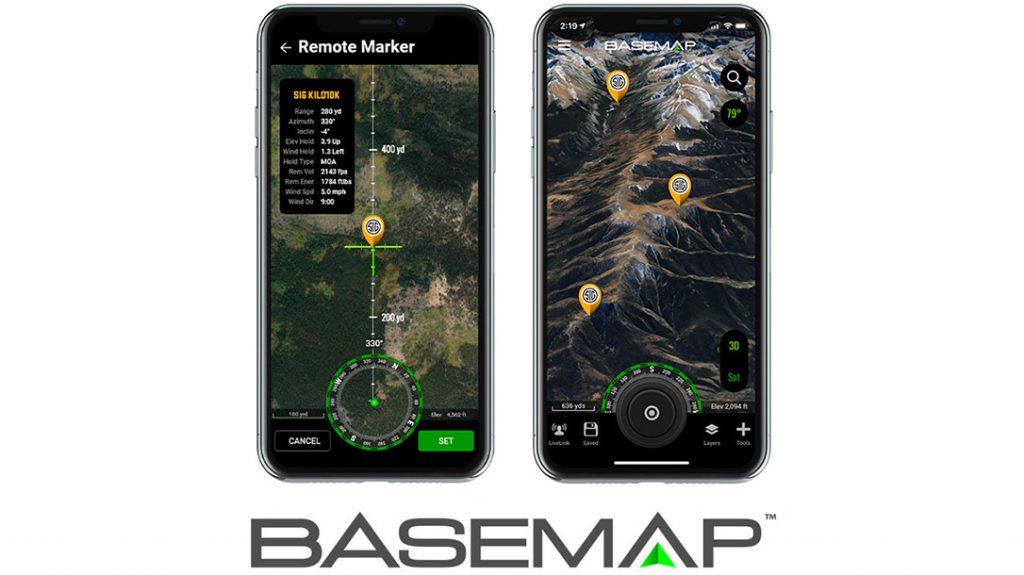 The BaseMap app.